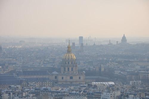 Du haut de la Tour Eiffel