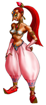 Nabooru of the Gerudo Tribe of Thieves - <i>Ocarina of Time 3D</i>