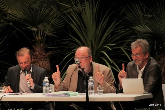 Arnaud Develde, Dominique Breillat et Serge Govaert