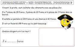 """Prolongements : """"des questions, pourquoi ?""""  """"Mathurin sur l'ìle enchantée"""""""