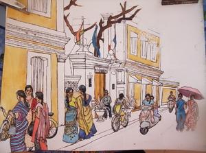 Dimanche - Pondichéry (4)