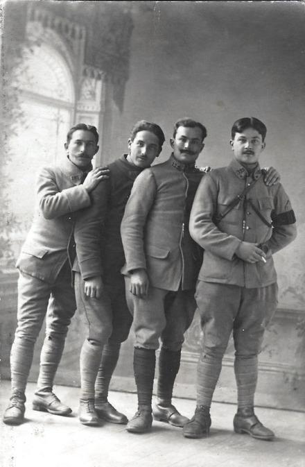 Jeunes soldats du 125ème régiment d'infanterie (d. 1918)