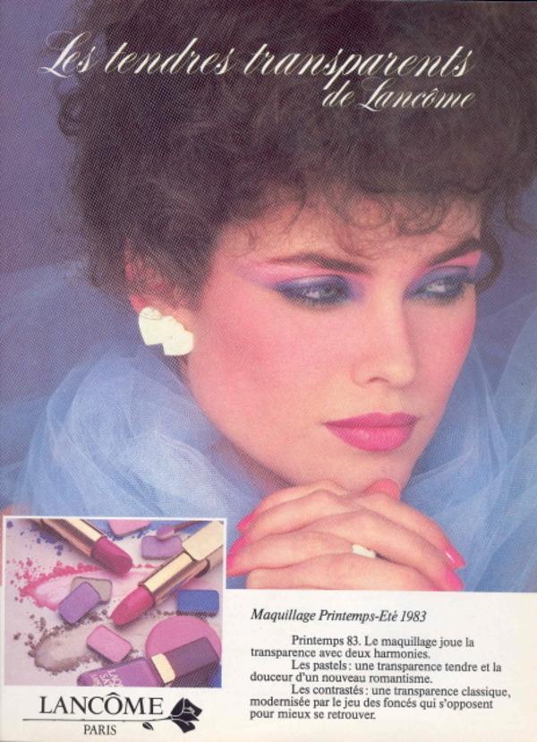 Fabuleux Maquillage des années 1980 - Les années 1980 ! SO85