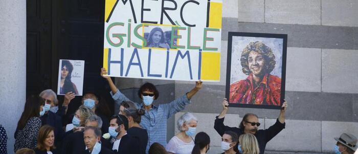 """Palestine, le cri de Gisèle Halimi   """"Je ne veux pas me taire"""""""