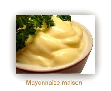 la mer suite ..mayonnaise maison