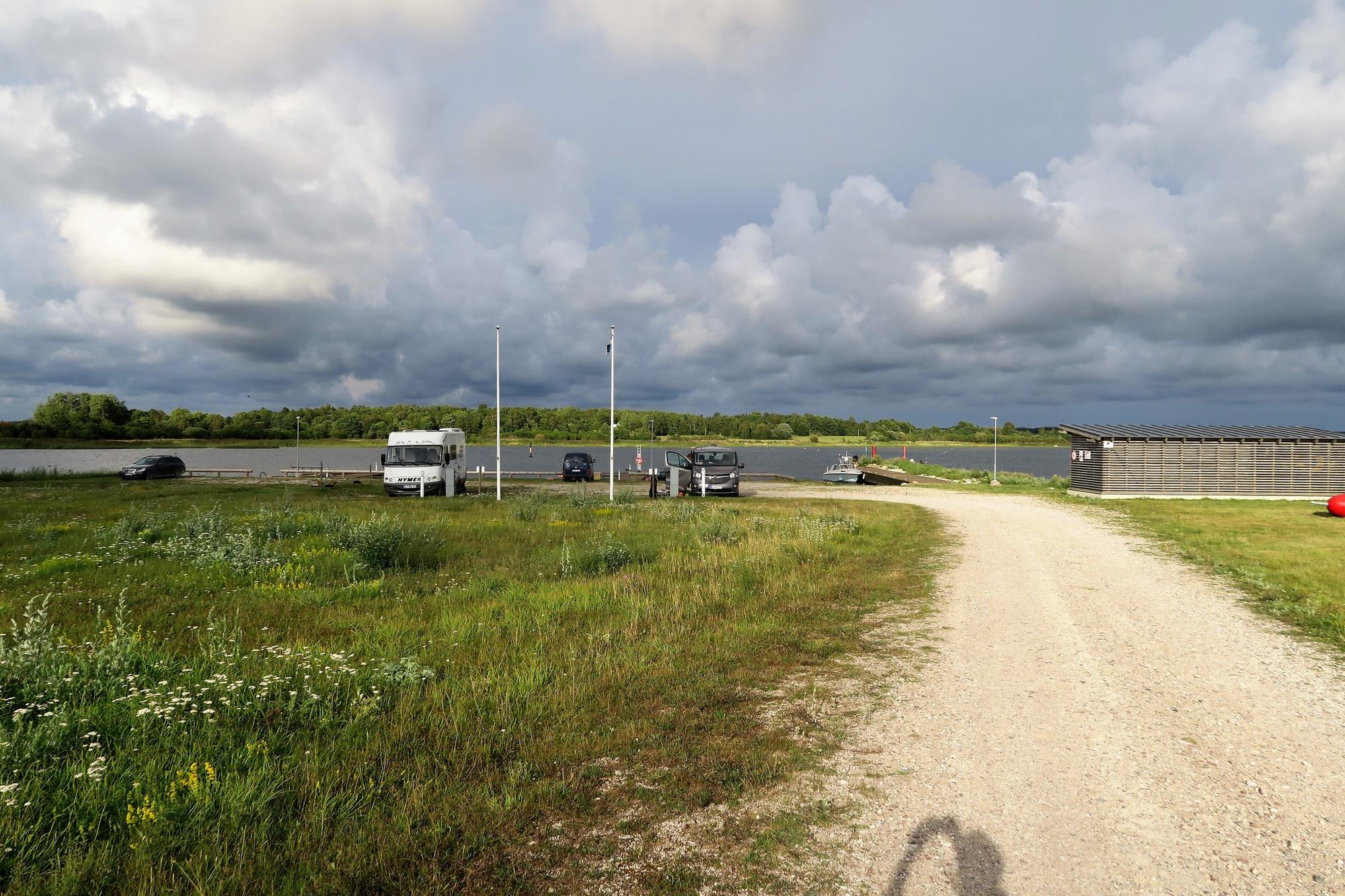 Ile de SAAREMAA (EST) Port de LOMALA