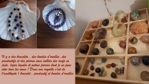 Mes pierres minérales !