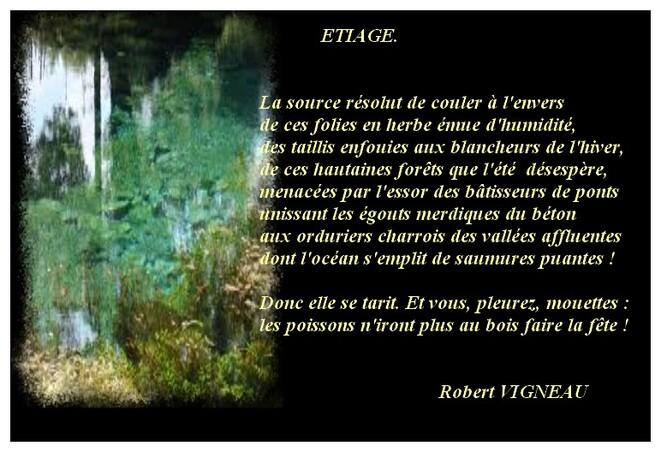 Auteur : Robert VIGNEAU.