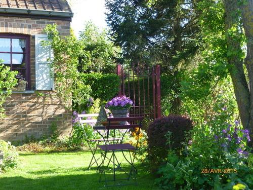 Un petit tour au jardin