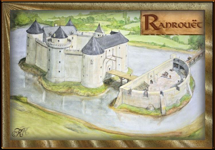 La visite du château de Ranrouët