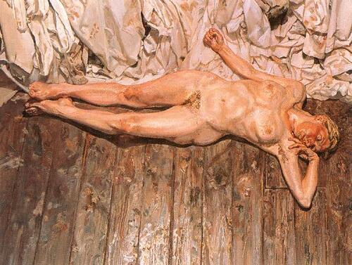 Samedi - Lucian Freud, le tableau du samedi.