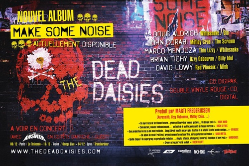 "THE DEAD DAISIES ""Make Some Noise"""