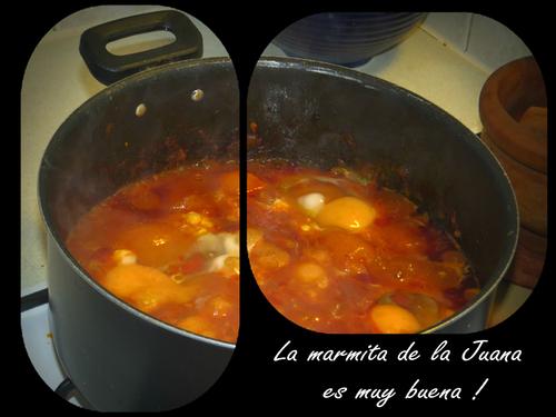 La marmita de los huevos a la Juana