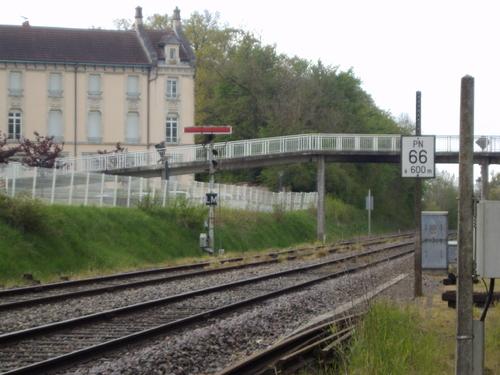 La gare de Mirecourt