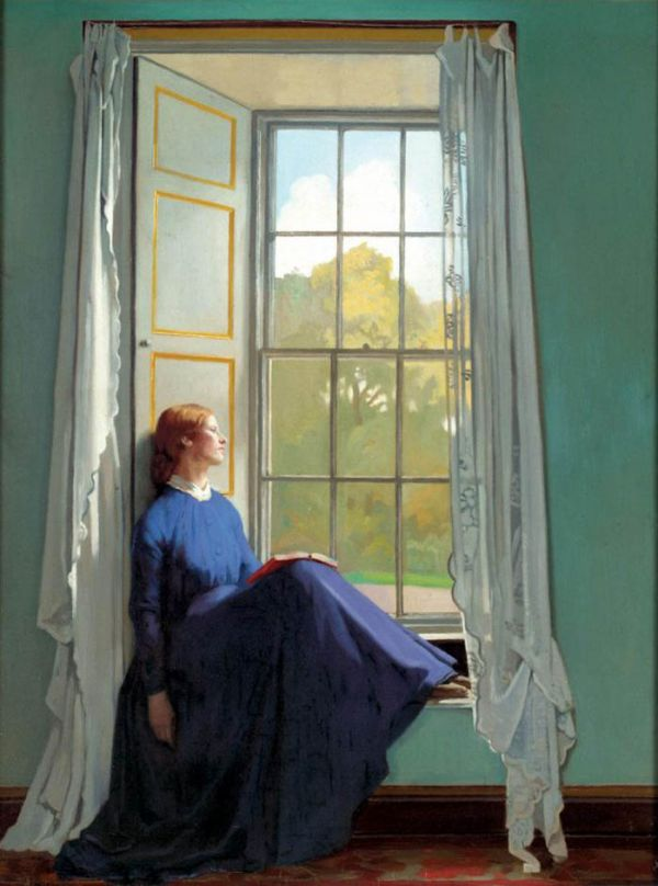 William Orpen - The Window Seat