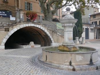 La fontaine et le lavoir de la Burlière