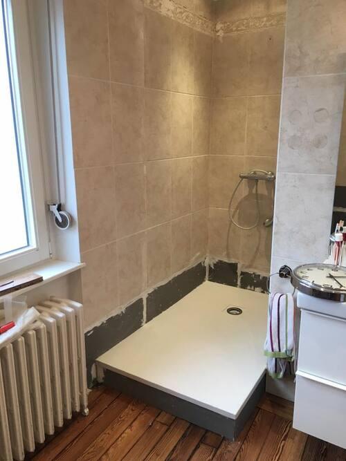 Rénovation d'une douche par Decostyles
