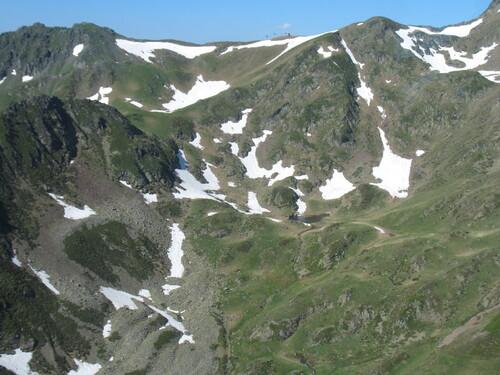 Vue du téléphérique du Pic du Midi
