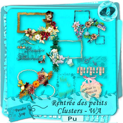 """Clusters """"Rentrée des petits"""""""