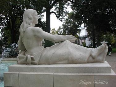Jeux d'eau colmariens : La fontaine Bruat