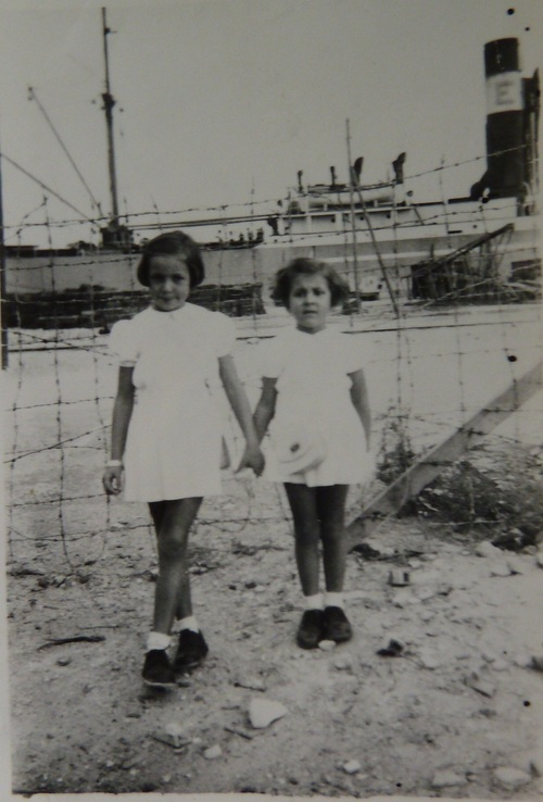 Mon enfance à Bizerte.