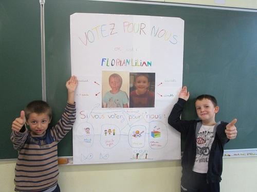 Elections des représentants des élèves CE1-CE2