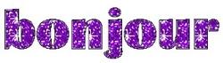 Des violettes pour Pâques - cartonnettes !