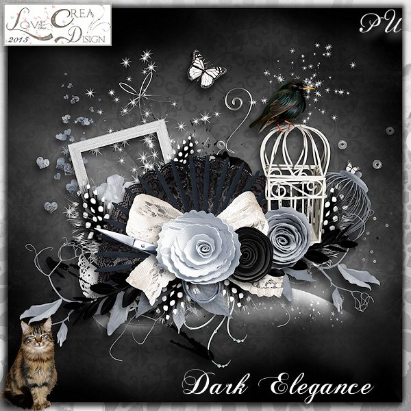 Dark Elegance by Love Créa Design