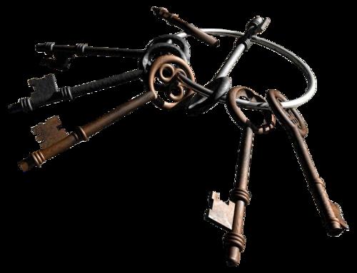 tubes clés et porte-clés