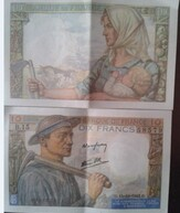 billets de 10 Frs Mineur 1942