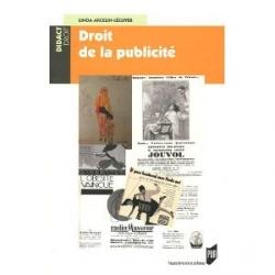 """Parution de l'ouvrage """"Droit de la publicité"""""""