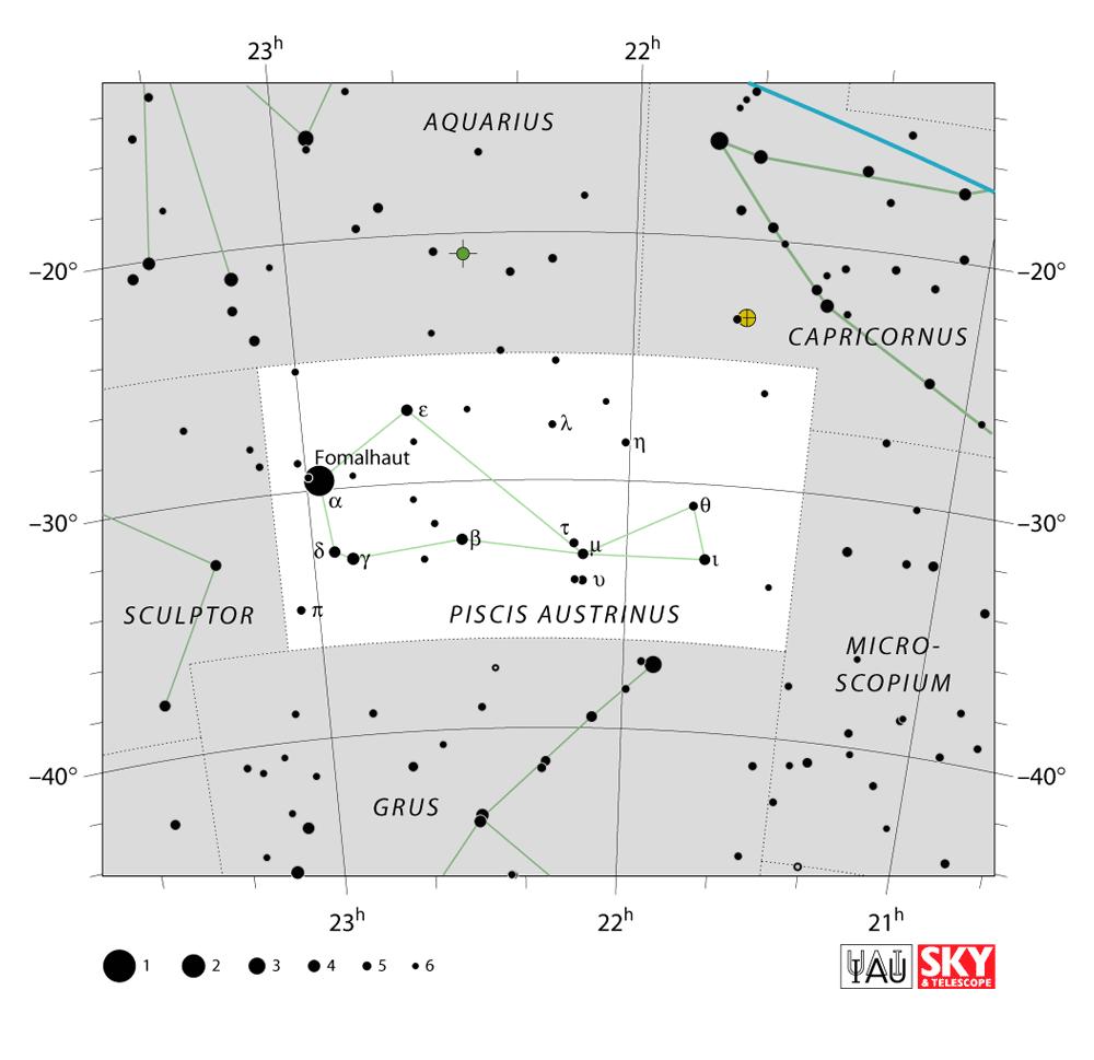 pisces austrinus map