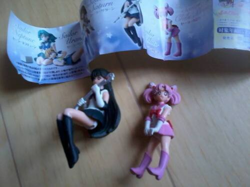 Mes Gashapons Sailor Moon