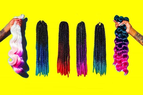 Create One-Of-A-Kind Looks with Hair's Braiding Bundles