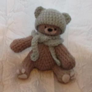 L'ourson Arthur au crochet
