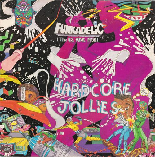 "Funkadelic : Album "" Hardcore Jollies "" Warner Bros. Records BS 2973 [ US ]"
