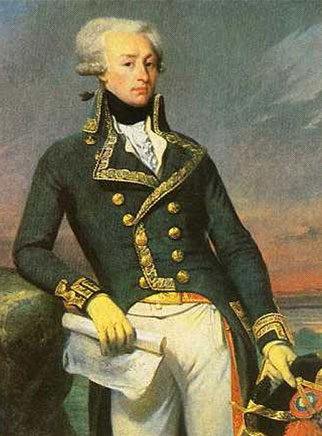 Le marquis de Lafayette en 1792, par Joseph Court (musée de Versailles)