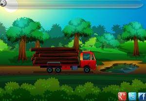 Jouer à Green forest obstacle escape