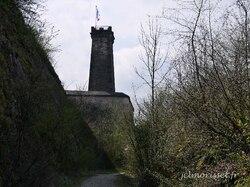 les remparts à Belfort