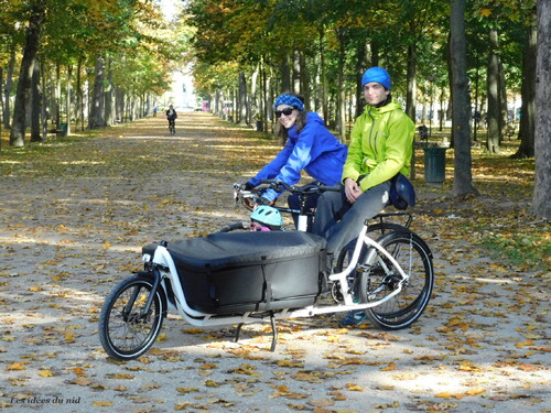 Le cargo bike Douze extra-long