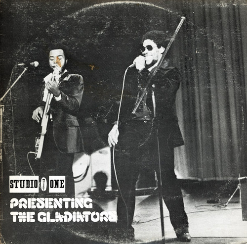 "The Gladiators : Album "" Studio One Presenting The Gladiators "" Studio One Records SOL 1133 [ JA ]"