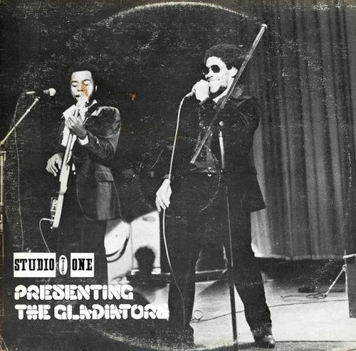 "The Gladiators : Album "" Studio One Presenting The Gladiators "" Studio One Records SOL 1133 [ JA ]"