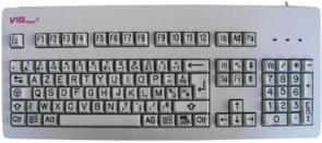 Cherry VIGkeys : clavier à caractères agrandis