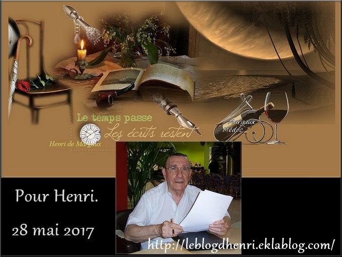 """""""Cher Henri""""  - 6 Juin 2017"""