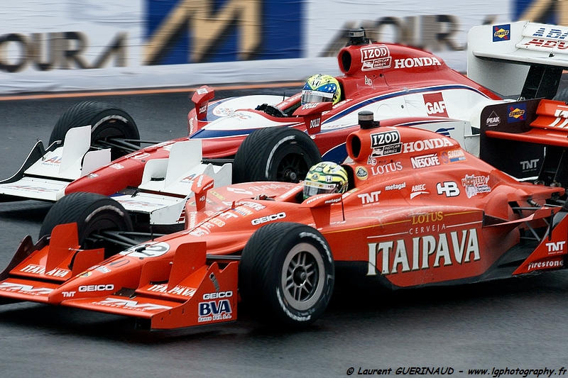 Indy Car - Itaipava São Paulo Indy 300 - Tony Kanaan (82 - Itaipava - KV Racing Technology - Lotus) & Vitor Meira (14 - ABS Supply Co./A.J. Foyt Racing)