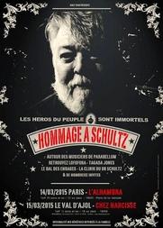 Concerts hommage à Schultz