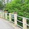 LAPENCHE le village 12 juin 2017le pont fleuri sur le CANDE  photo mcmg82