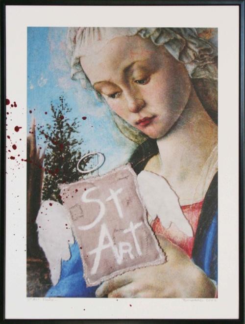 St art - Marie- 30x40 cm-2011 lgt
