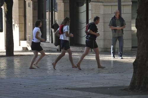 Blois nus pieds