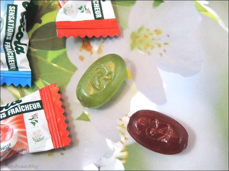 Ricola le bonbon suisse au coeur liquide !